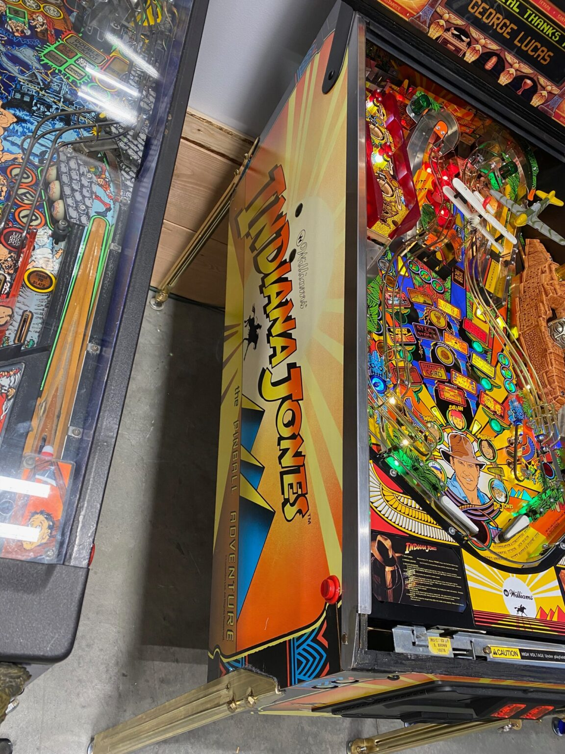 Flipper - Flipperautomaten - Pinball - Kaufen: Indiana